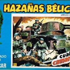 Cómics: HAZAÑAS BÉLICAS, EDITORIAL URSUS. Nº143 . 1973 VOL.XLIII BOIXCAR. Lote 119213759