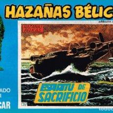 Cómics: HAZAÑAS BÉLICAS, EDITORIAL URSUS. Nº150 . 1973 VOL.L BOIXCAR. Lote 119214647