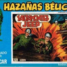Cómics: HAZAÑAS BÉLICAS, EDITORIAL URSUS. Nº152 . 1973 VOL.LII BOIXCAR. Lote 119214899
