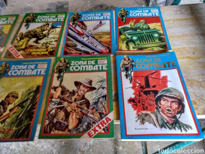 ZONA DE COMBATE. 13 EJEMPLARES. DIVERSAS CONSERVACIONES. (Tebeos y Comics - Ursus)