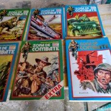 Cómics: ZONA DE COMBATE. 13 EJEMPLARES. DIVERSAS CONSERVACIONES.. Lote 119948658