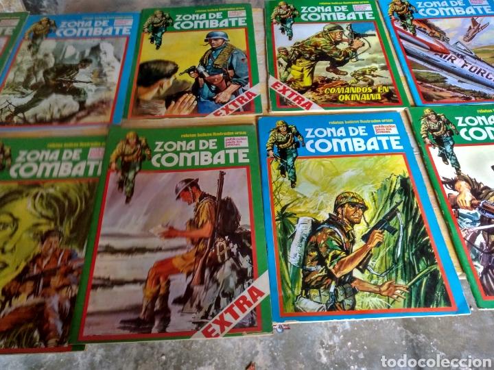 Cómics: Zona de Combate. 13 ejemplares. Diversas conservaciones. - Foto 3 - 119948658