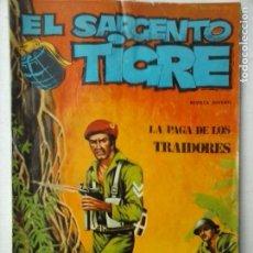Cómics: SARGENTO TIGRE Nº 44 - VILMAR 1972. Lote 121188291