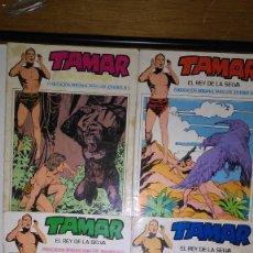 Cómics: * TAMAR * EDICIONES URSUS 1973 * ORIGINALES LOTE DE 5 Nº *. Lote 121520483