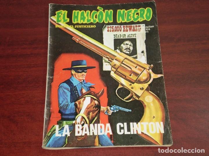 ALCON NEGRO Nº 5 - BANDA CLINTON- ZORRO JUSTICIERO (Tebeos y Comics - Ursus)
