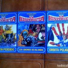 Cómics: LOTE DE COMICS LA HISTORIETA NUMEROS ,2,3,4 DE 1980. Lote 126987131