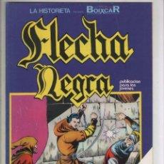 Cómics: FLECHA NEGRA-ESPECIAL BOIXCAR-EXTRA-URSUS-B/N-AÑO 1980-FORMATO GRAPA-Nº 4-CARA A CARA. Lote 128261819