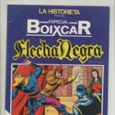 Cómics: FLECHA NEGRA-ESPECIAL BOIXCAR-EXTRA-URSUS-B/N-AÑO 1980-FORMATO GRAPA-Nº 1-FLECHA NEGRA. Lote 128262579