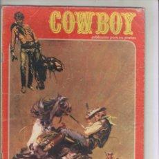 Cómics: COWBOY- URSUS-B/N-AÑO 1978-FORMATO GRAPA-Nº 34-LA VICTIMA NUMERO TRECE. Lote 128651643