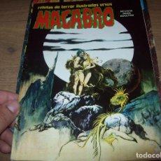 Cómics: MACABRO.RELATOS DE TERROR ILUSTRADOS URSUS. Nº 19. URSUS EDICIONES . 1975. VER FOTOS. . Lote 128679435