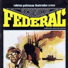 Cómics: SERVICIO FEDERAL - Nº 1 - HERENCIA PARA CUATRO ASESINOS-GRAN JOSEP GUAL-1980-FLAMANTE-DIFÍCIL-9126. Lote 128808955