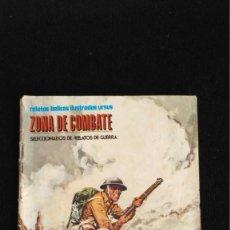 Cómics: ZONA DE COMBATE Nº 3. BRIGADA DE LOCOS. URSUS. RELATOS BÉLICOS ILUSTRADOS, RELATOS DE GUERRA. 1973. Lote 134089302