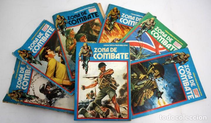 ZONA DE COMBATE-RELATOS BELICOS-URSUS-5+2 EXTRA. (Tebeos y Comics - Ursus)