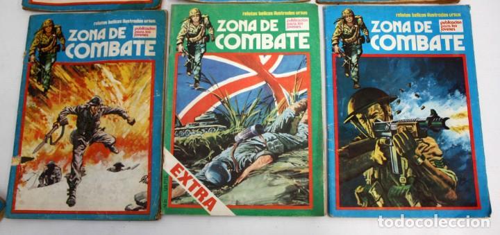 Cómics: ZONA DE COMBATE-RELATOS BELICOS-URSUS-5+2 EXTRA. - Foto 3 - 134244938