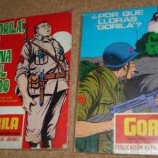 Cómics: GORILA, URSUS 1973 NÚMEROS 5 Y 8, COMO TACO PERO MAS FINITO.- ORIGINALES MUY BUENOS. Lote 135493658