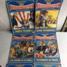 Cómics: LA HISTORIETA -LOTE DE 5 EJEMPLARES -ED. URSUS. Lote 137441030