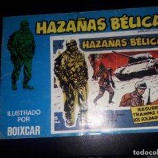 Cómics: HAZAÑAS BÉLICAS BOIXCAR, 1973 NÚMEROS 169, 171, 178. ZONA DE COMBATE Nº151 EDICIONES URSU.. Lote 140933046