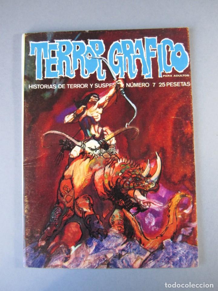 TERROR GRAFICO (1972, URSUS) 7 · 1973 · TERROR GRAFICO (Tebeos y Comics - Ursus)