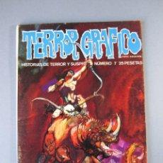 Cómics: TERROR GRAFICO (1972, URSUS) 7 · 1973 · TERROR GRAFICO. Lote 141576722