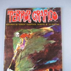Cómics: TERROR GRAFICO (1972, URSUS) 8 · 1973 · TERROR GRAFICO. Lote 141576938
