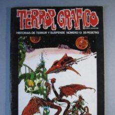 Cómics: TERROR GRAFICO (1972, URSUS) 13 · 1973 · TERROR GRAFICO *** EXCELENTE ***. Lote 141578110