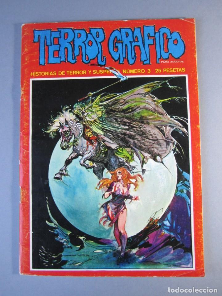 TERROR GRAFICO (1972, URSUS) 3 · 1972 · TERROR GRAFICO (Tebeos y Comics - Ursus)