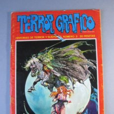 Cómics: TERROR GRAFICO (1972, URSUS) 3 · 1972 · TERROR GRAFICO. Lote 141578530