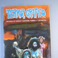 Cómics: TERROR GRAFICO (1972, URSUS) 5 · 1972 · TERROR GRAFICO. Lote 195347151
