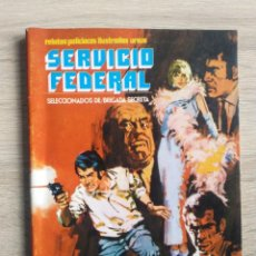 Cómics: SERVICIO FEDERAL Nº 3 * ¡ POLI ! * URSUS. Lote 144105294