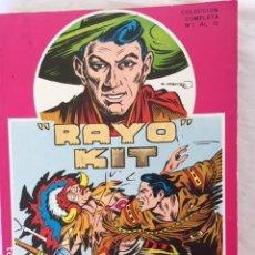 Comics : RAYO KIT - RETAPADO - COLECCION COMPLETA. Lote 147530586