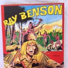 Cómics: RAY BENSON - COLECCION COMPLETA - RETAPADO. Lote 147531114