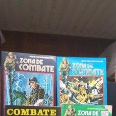 Cómics: LOTE 10 TEBEOS / CÓMIC ZONA DE COMBATE EXTRA N 11 - 37 URSUS RETAPADOS 1973 TEBEO. Lote 147741226