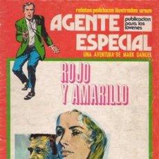 Cómics: AGENTE ESPECIAL - Nº 7 - ROJO Y AMARILLO-GRAN JOSEP GUAL-1974-BUENO-MUY DIFÍCIL-LEAN-0062. Lote 148093061