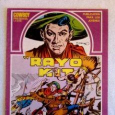 Cómics: RAYO KIT Nº1 / SERIE COWBOY / URSUS 1982 / G. IRANZO. Lote 149508926
