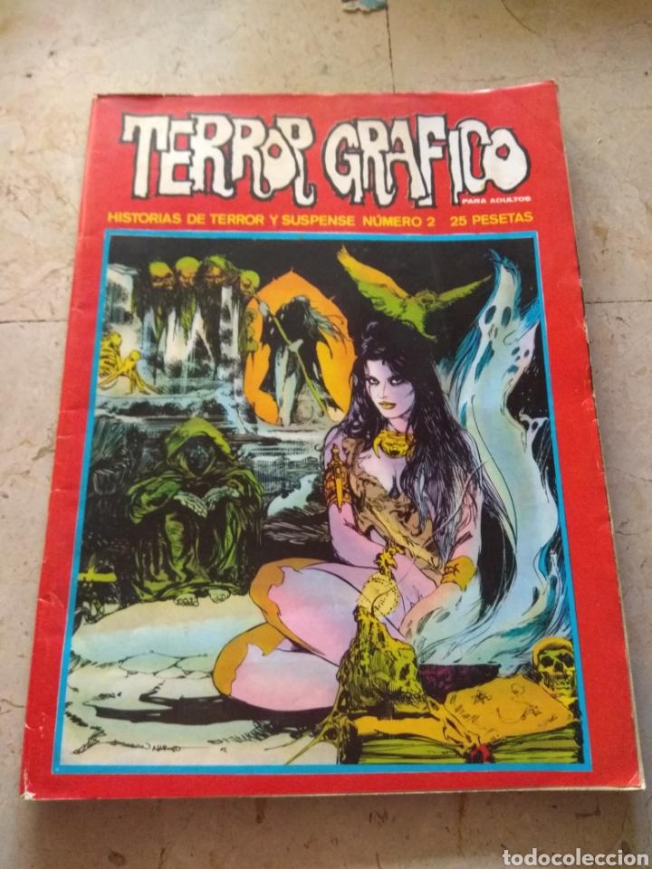 TERROR GRÁFICO N°2 HISTORIAS DE TERROR Y SUSPENSE (Tebeos y Comics - Ursus)