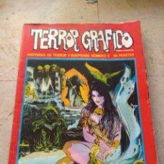 Fumetti: TERROR GRÁFICO N°2 HISTORIAS DE TERROR Y SUSPENSE. Lote 195361337