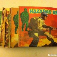 Cómics: HAZAÑAS BÉLICAS - LOTE 15 EJEMPLARES. Lote 154644422