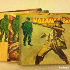 Cómics: HAZAÑAS BÉLICAS - LOTE 5 EJEMPLARES. Lote 154658766