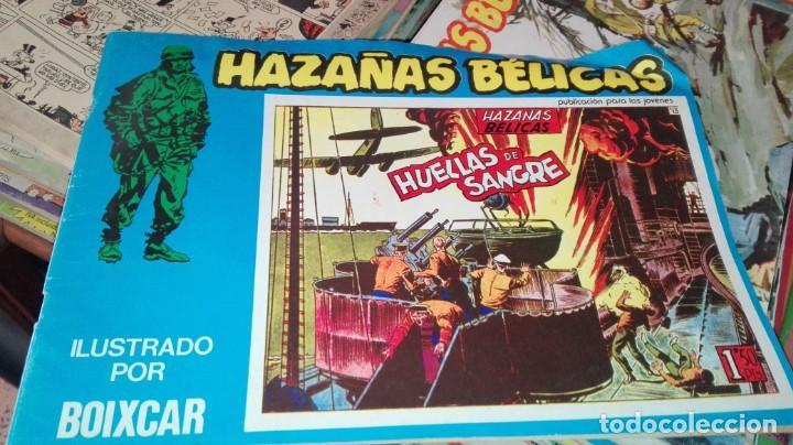 HAZAÑAS BÉLICAS Nº 7 * HUELLAS DE SANGRE * (Tebeos y Comics - Ursus)