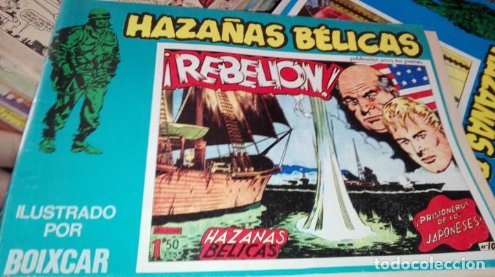 HAZAÑAS BÉLICAS ¡REBELIÓN! Nº 10 (Tebeos y Comics - Ursus)