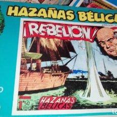 Cómics: HAZAÑAS BÉLICAS ¡REBELIÓN! Nº 10. Lote 155642110