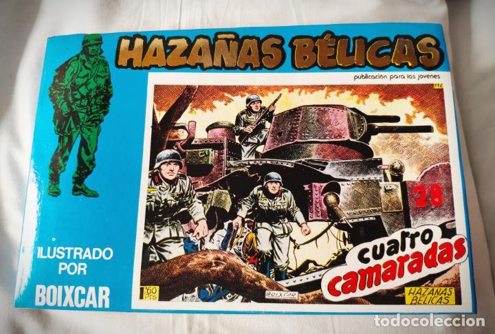HAZAÑAS BELICAS EXTRA AZUL 11 - CON LOS Nº 141-144 URSUS - DE PAPELERIA CERRADA (Tebeos y Comics - Ursus)