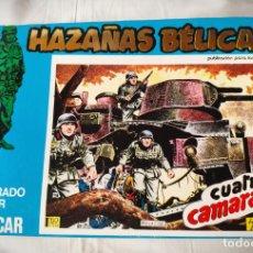 Cómics: HAZAÑAS BELICAS EXTRA AZUL 11 - CON LOS Nº 141-144 URSUS - DE PAPELERIA CERRADA. Lote 157689910