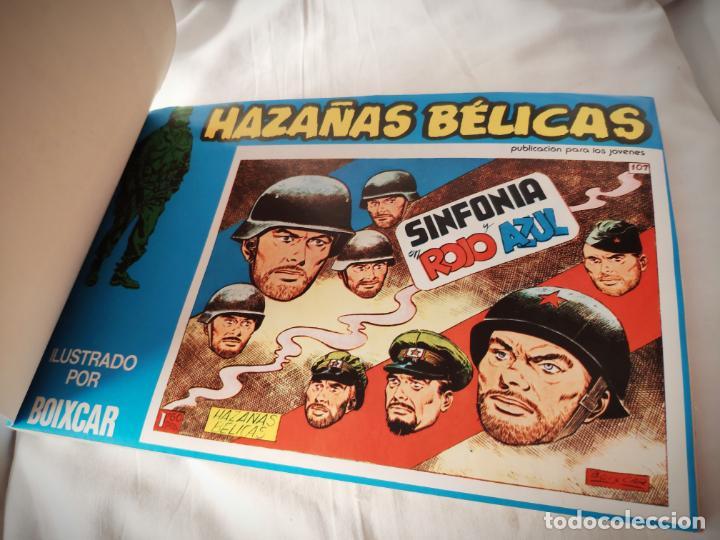 Cómics: HAZAÑAS BELICAS EXTRA AZUL 11 - CON LOS Nº 141-144 URSUS - DE PAPELERIA CERRADA - Foto 3 - 157689910