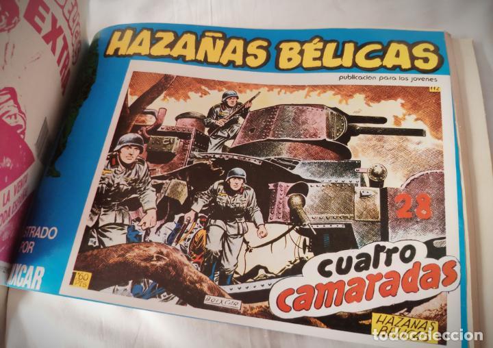 Cómics: HAZAÑAS BELICAS EXTRA AZUL 11 - CON LOS Nº 141-144 URSUS - DE PAPELERIA CERRADA - Foto 5 - 157689910