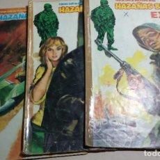 Fumetti: HAZAÑAS BELICAS EXTRA Nº 24-27-52.EDITA URSUS.1979.LOTE DE COMICS.. Lote 159695214