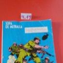Cómics: CÓMIC SOPA DE METRALLA GORILA.EDICIONES URSUS 1973.SIN USO.. Lote 160229041
