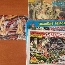 Cómics: HAZAÑAS BÉLICAS. EDICIONES G4. LOTE 10 Nº. BOIXCAR. Lote 161629314