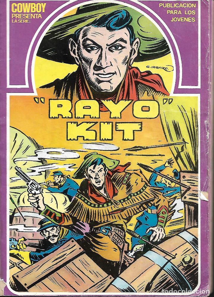 RAYO KIT , COMPLETA A FALTA DEL Nº 6 (Tebeos y Comics - Ursus)