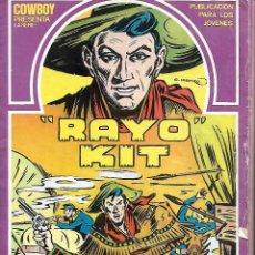 Cómics: RAYO KIT , COMPLETA A FALTA DEL Nº 6. Lote 163951218